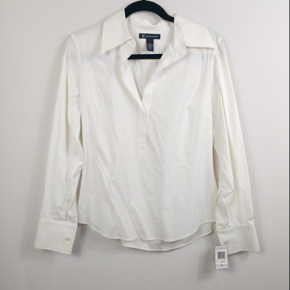 INC International Concepts Tops - NWT INC International Concepts Popover Long Sleeve